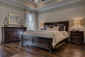 Vloerverwarming op de slaapkamer